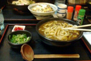 Wordless Wednesday : Curry Udon